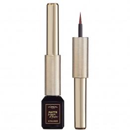L'Oreal Matte Signature Liquid Eyeliner - 03 Brown