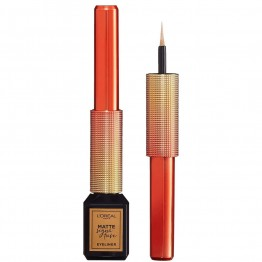 L'Oreal Electric Nights Matte Signature Liquid Eyeliner - 10 Gold Signature