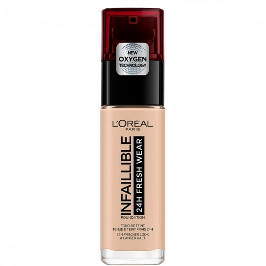 L'Oreal Infallible 24H Fresh Wear Foundation - 025 Rose Ivory