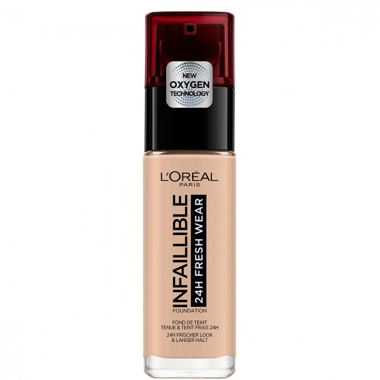 L'Oreal Infallible 24H Fresh Wear Foundation - 110 Rose Vanilla