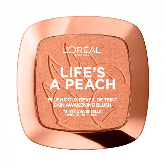 L'Oreal Life's a Peach Blush Powder - 01 Peach Addict