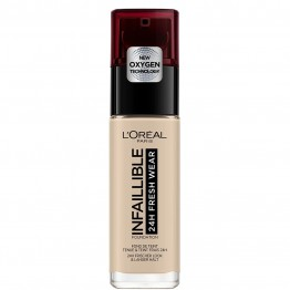 L'Oreal Infallible 24H Fresh Wear Foundation - 015 Porcelain