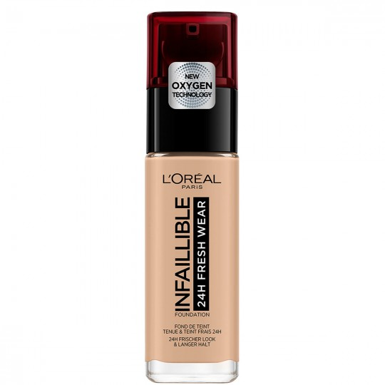 L'Oreal Infallible 24H Fresh Wear Foundation - 145 Rose Beige