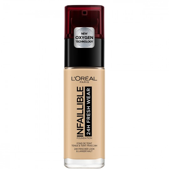 L'Oreal Infallible 24H Fresh Wear Foundation - 200 Golden Sand