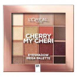 L'Oreal Eyeshadow Mega Palette - Cherry My Cheri
