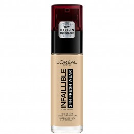 L'Oreal Infallible 24H Fresh Wear Foundation - 100 Linen