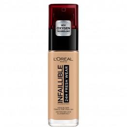 L'Oreal Infallible 24H Fresh Wear Foundation - 135 Radiant Vanilla