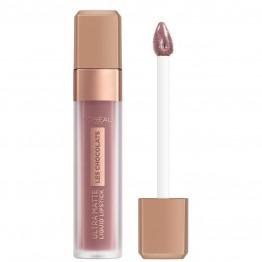 L'Oreal Les Chocolats Ultra Matte Liquid Lipstick - 842 Candyman