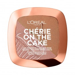 L'Oreal Cherie On The Cake Blush + Bronzer - 01 Cherry Fever