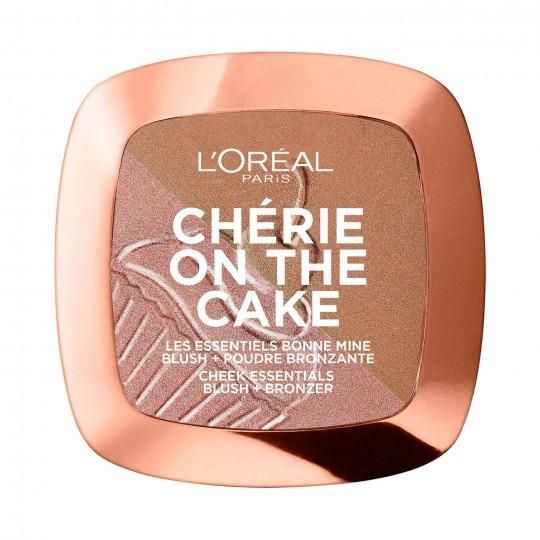 L'Oreal Cherie On The Cake Blush + Bronzer - 01 Cherry Fever