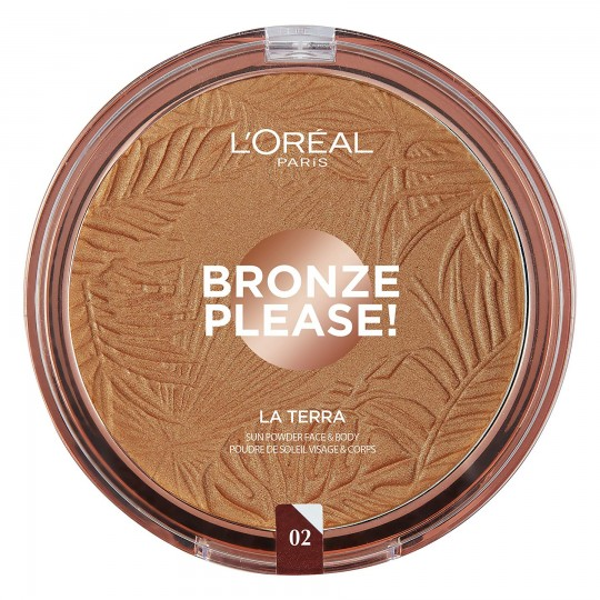 L'Oreal Bronze Please! La Terra Bronzer - 02 Natural Capri