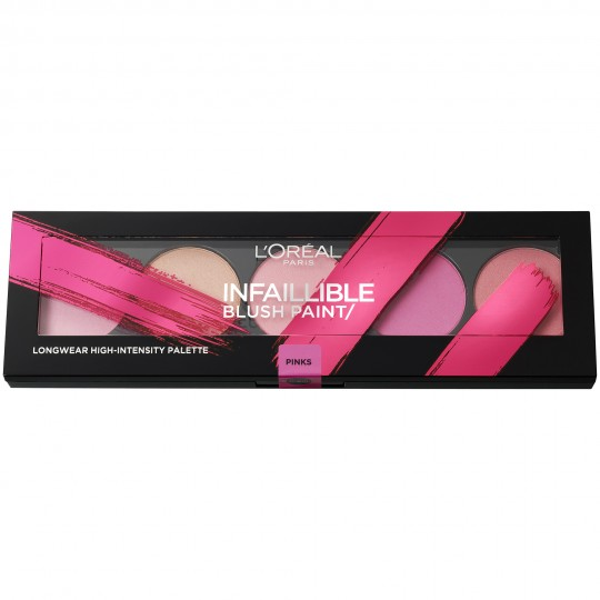 L'Oreal Infallible Paint Blush Palette - 01 The Pinks