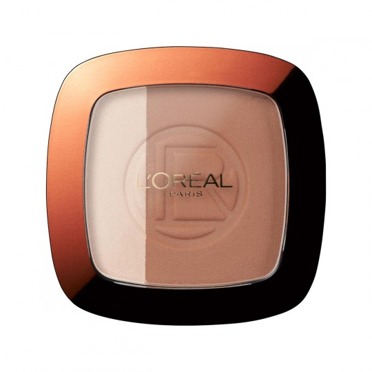 L'Oreal Glam Bronze Powder Duo - 102 Brunette Harmony
