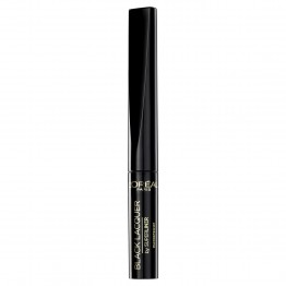 L'Oreal Black Lacquer by SuperLiner Waterproof Eyeliner - Black