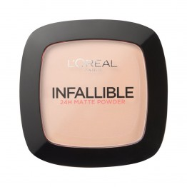 L'Oreal Infallible 24h Matte Powder - 123 Warm Vanilla