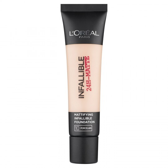 L'Oreal Infallible 24h Matte Foundation - 10 Porcelain
