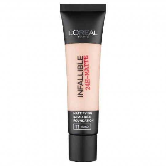 L'Oreal Infallible 24h Matte Foundation - 11 Vanilla