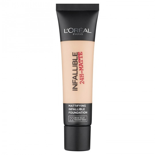L'Oreal Infallible 24h Matte Foundation - 22 Radiant Beige