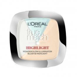 L'Oreal True Match Highlight Powder Glow Illuminator - 302R/C Icy Glow