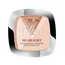 L'Oreal True Match Highlight Powder Glow Illuminator - 202N Rosy Glow
