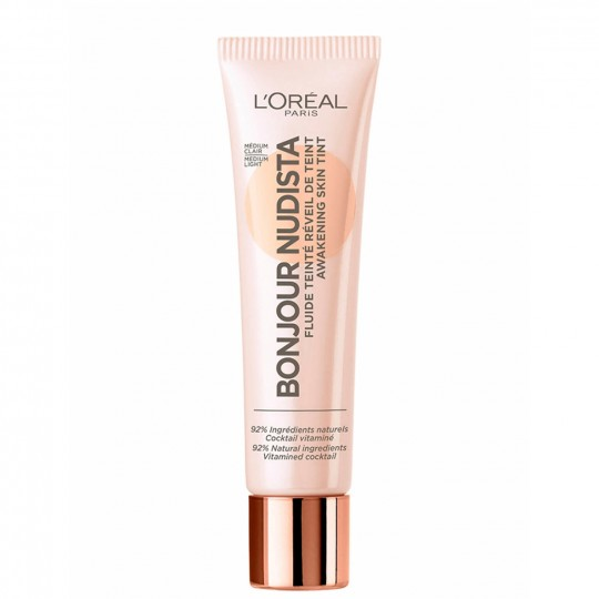L'Oreal Bonjour Nudista BB Cream - 02 Medium Light