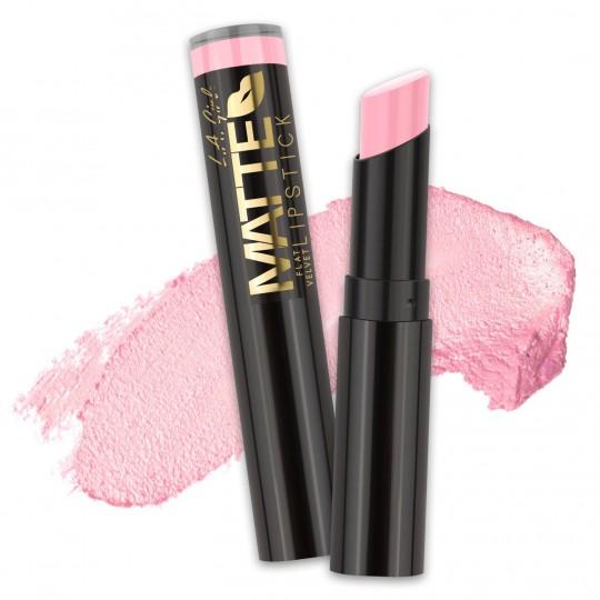 L.A. Girl Matte Flat Velvet Lipstick - GLC802 Carried Away