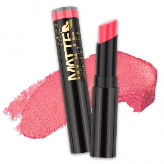L.A. Girl Matte Flat Velvet Lipstick - GLC804 Blessed