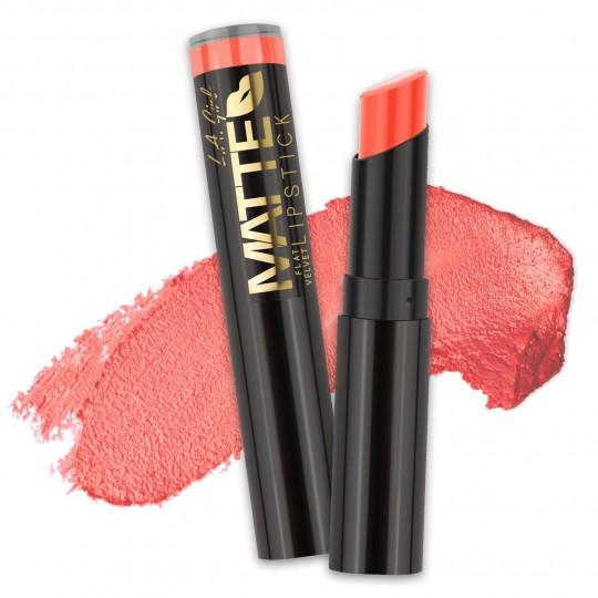 L.A. Girl Matte Flat Velvet Lipstick - GLC805 Sunset Chic