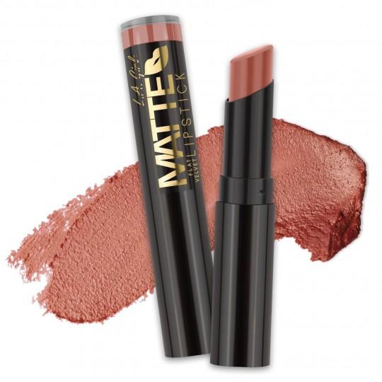 L.A. Girl Matte Flat Velvet Lipstick - GLC812 Snuggle