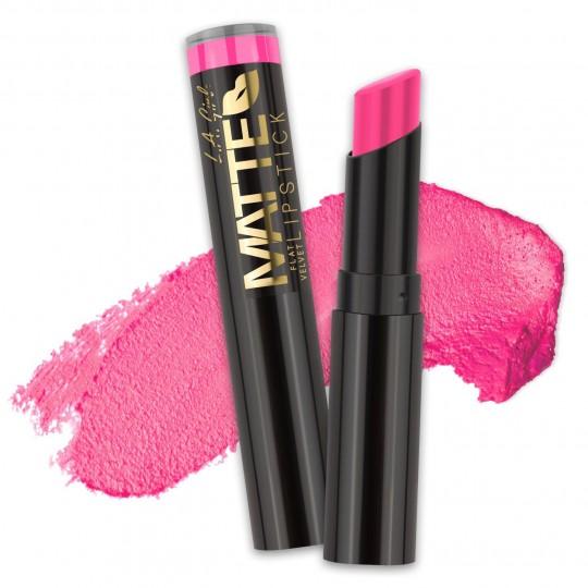 L.A. Girl Matte Flat Velvet Lipstick - GLC815 Arm Candy