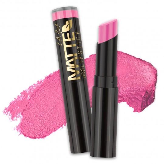 L.A. Girl Matte Flat Velvet Lipstick - GLC817 Love Story