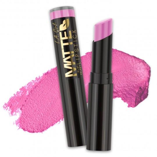 L.A. Girl Matte Flat Velvet Lipstick - GLC818 Dare To Date