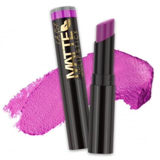 L.A. Girl Matte Flat Velvet Lipstick - GLC819 Giggle