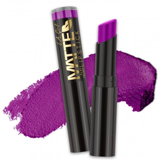 L.A. Girl Matte Flat Velvet Lipstick - GLC820 Love Triangle