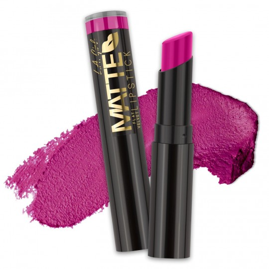 L.A. Girl Matte Flat Velvet Lipstick - GLC821 Manic