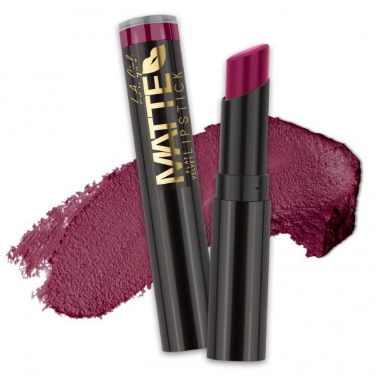 L.A. Girl Matte Flat Velvet Lipstick - GLC823 Va Voom!