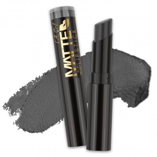 L.A. Girl Matte Flat Velvet Lipstick - GLC824 Poetic