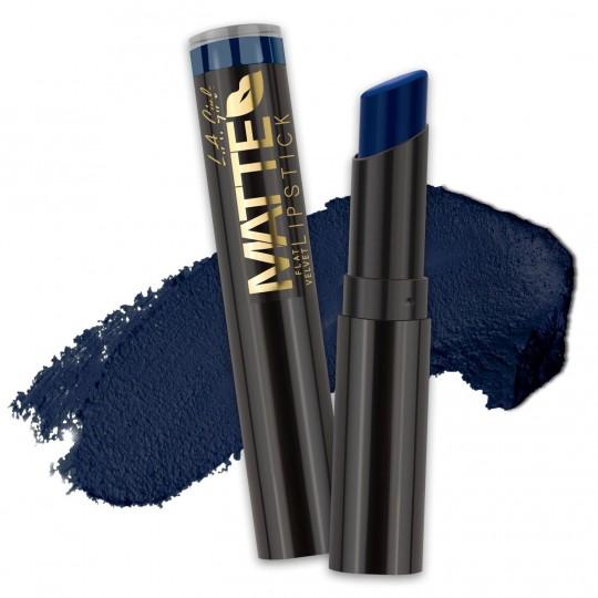 L.A. Girl Matte Flat Velvet Lipstick - GLC825 Blue Valentine
