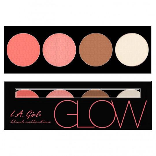 L.A. Girl Beauty Brick Blush Palette - GBL571 Glow