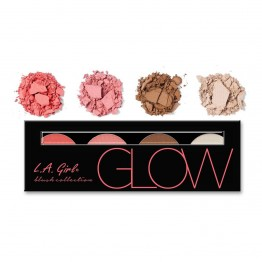 L.A. Girl Beauty Brick Blush Palette - GBL571 Glow