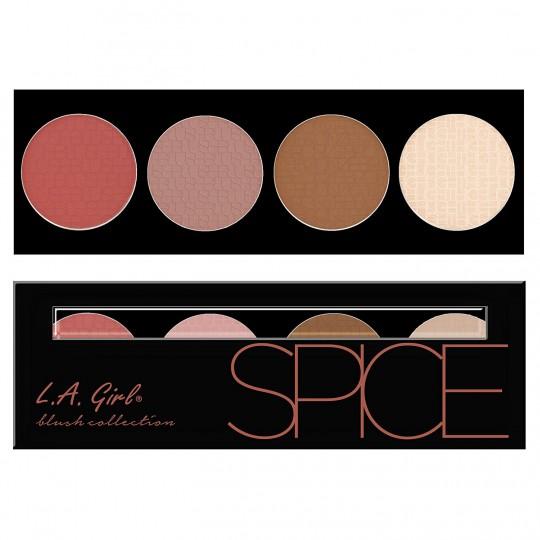 L.A. Girl Beauty Brick Blush Palette - GBL573 Spice