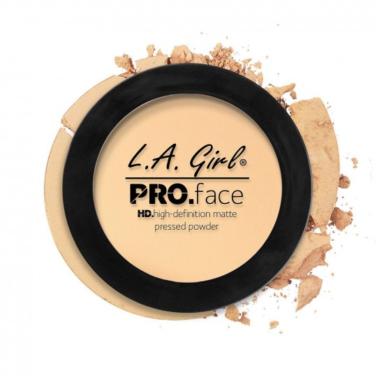 L.A. Girl Pro Face Matte Pressed Powder - GPP602 Classic Ivory