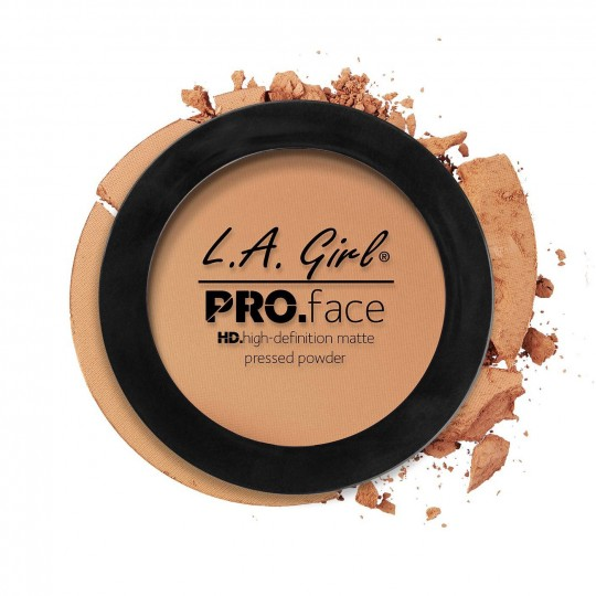 L.A. Girl Pro Face Matte Pressed Powder - GPP607 Warm Honey