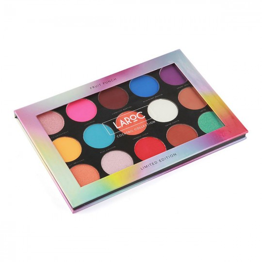 LaRoc 15 Colour Cocktail Eyeshadow Palette - Fruit Punch