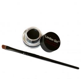London Girl Gel Eyeliner - 01 Kajal Black