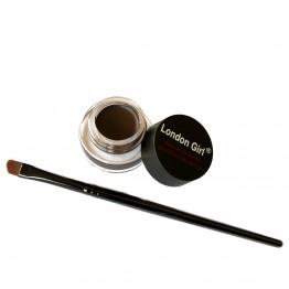 London Girl Gel Eyeliner - 02 Dark Brown