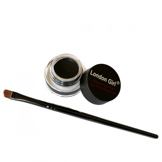 London Girl Gel Eyeliner - 01 Deep Black
