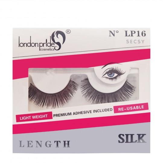 London Pride Silk Length Eyelashes - LP16 Secsy