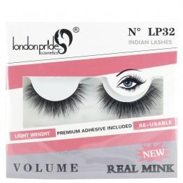 London Pride Real Mink Volume Eyelashes - LP32 Indian Lashes