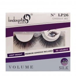 London Pride 3D Silk Volume Eyelashes - LP26 Choose Me
